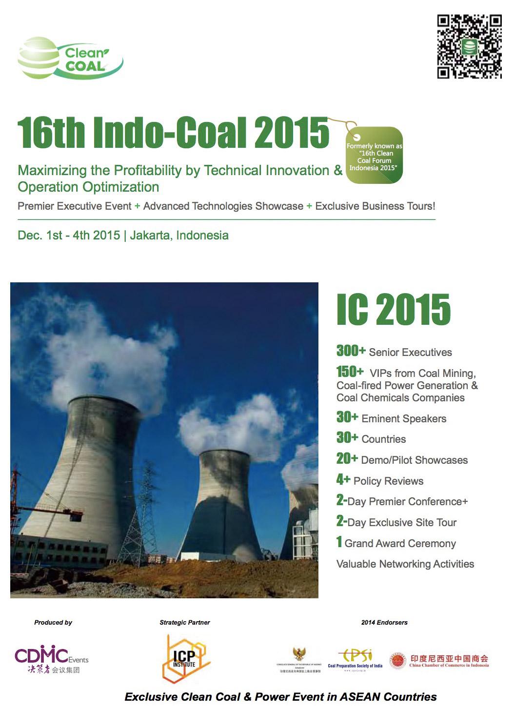 16th Indo-Coal 2015