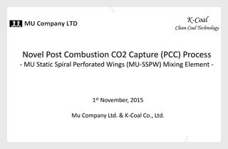 MU-SSPW for PCC Reactorに関する資料
